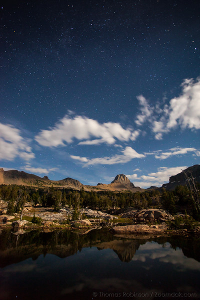 Night in Jedediah Smith Wilderness
