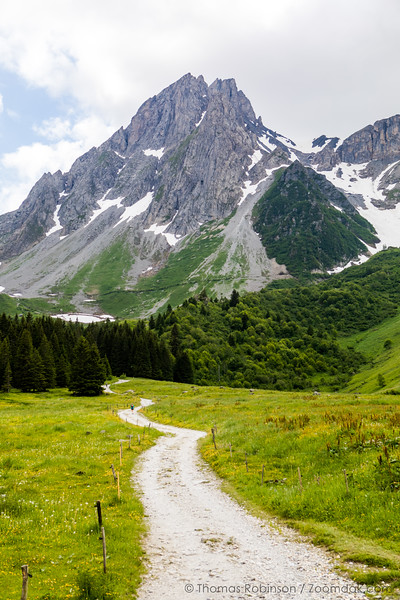 Trail to Col du Bonhomme