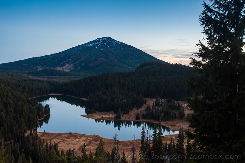 Todd Lake Evening