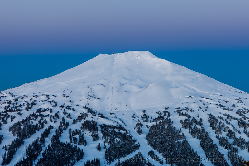 Earth Shadow Behind Mt. Bachelor