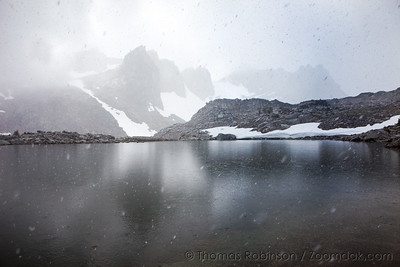 First Snow at Dragontail Peak