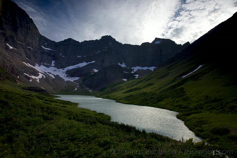 Mount Siyeh and Cracker Lake