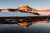 First Light on South Sister