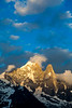 Golden Light on Aiguille Verte and Aiguille du Dru