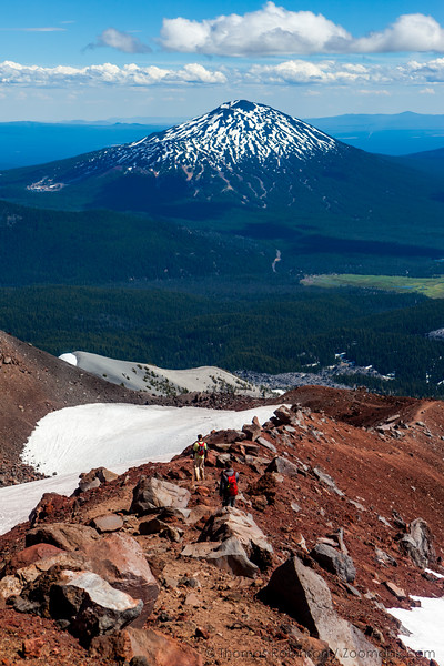 Trail Down South Sister