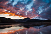 Sparks Lake Spectacular Sunset
