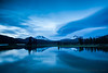 Sparks Lake in Blue