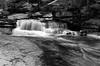 Black and White Waterfall, Yosemite National Park