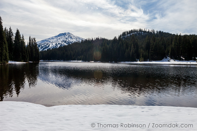 Snow at Todd Lake