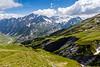 Tour du Mont Blanc View Towards Les Chappieux