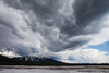 Mt. Bachelor and Thunderstorm