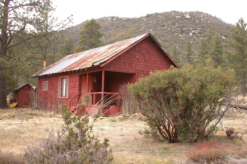 A second cabin is more rustic.