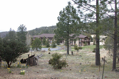 The Seventh-Day Adventist retreat center next-door.