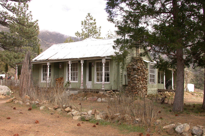 The main house on the ranch is about 100 years old.  It has electricity, phone, and running water.
