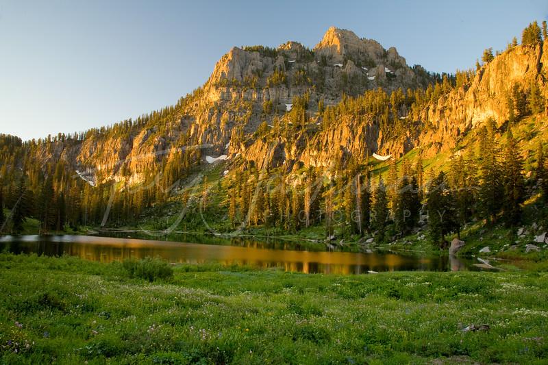 White Pine Lake, Logan Canyon, Utah