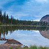 Morning at Shadow lake, Uinta's, Utah