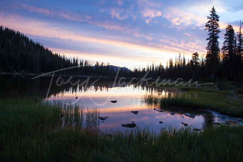 Shadow Lake, Uinta Mountains, Utah, Sunrise
