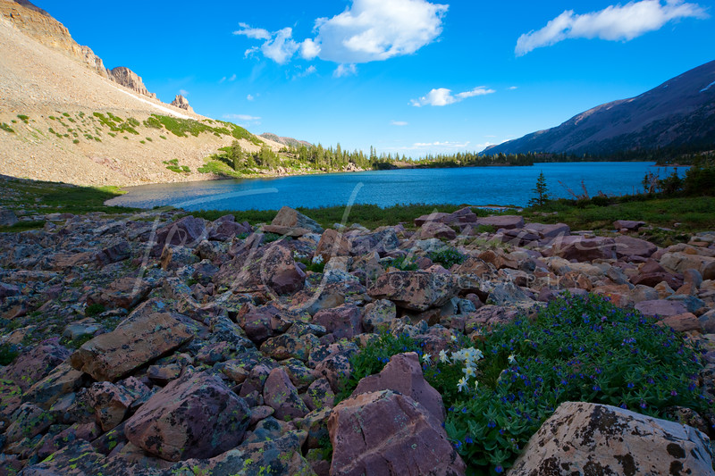 Amethyst Lake, Christmas Meadows, Uinta National Forest,