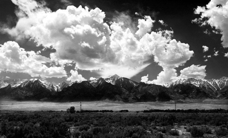 """Cloud Burst""      Lone Pine, California"