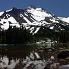 Mt Jefferson, OR  Scout Lake