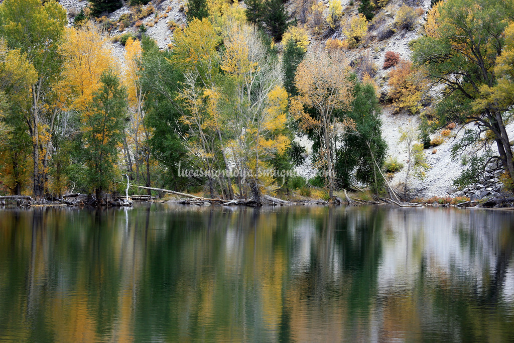 Chalk Lake, Colorado and Surrounding Area - September 2008