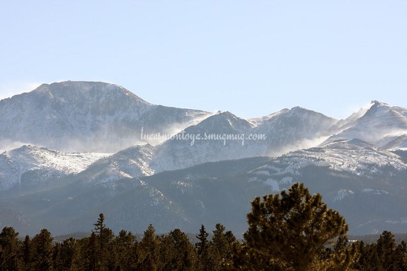 Pikes Peak, Colorado - 10 January 2009