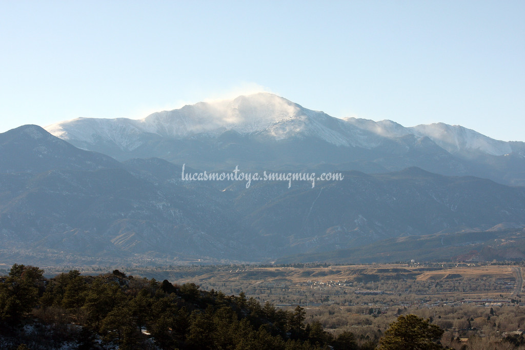 Pikes Peak, Colorado - 27 December 2008