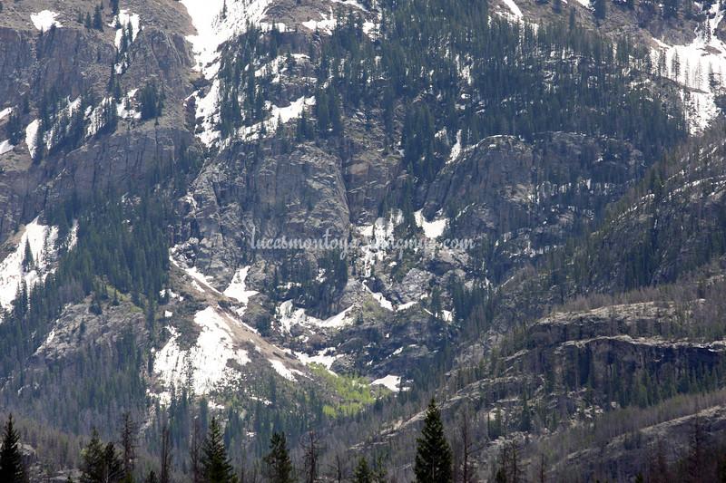 Mt. Craig near Grand Lake, Colorado;  Hiking the E. Inlet Trail - June 2011