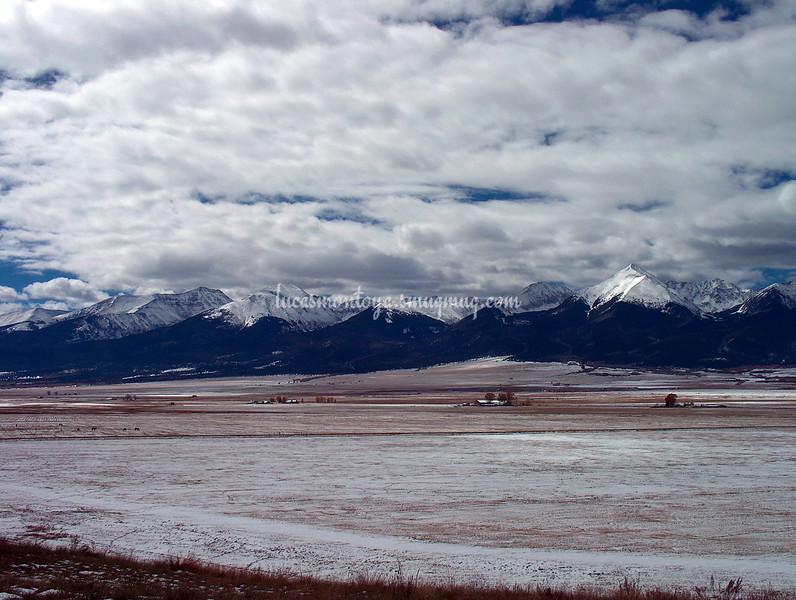 Sangre de Cristo Mountains - West of Westcliffe, Colorado