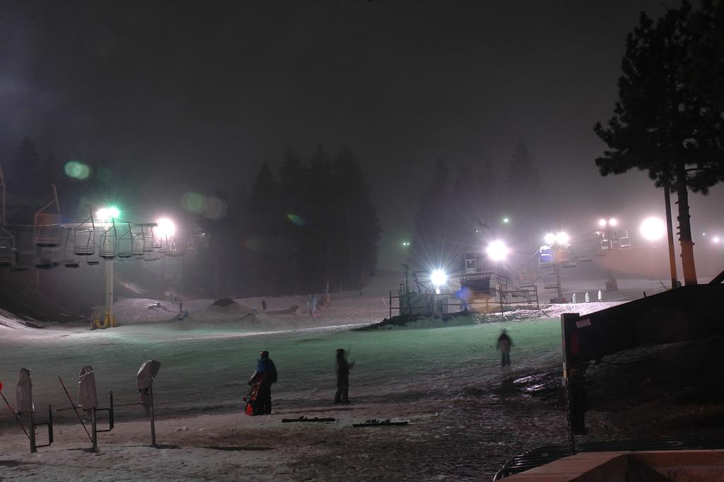 Mountain High, Christmas Night, 2005.