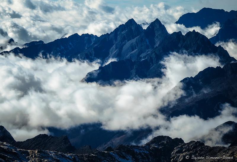 Black & White....Bolivian Andes