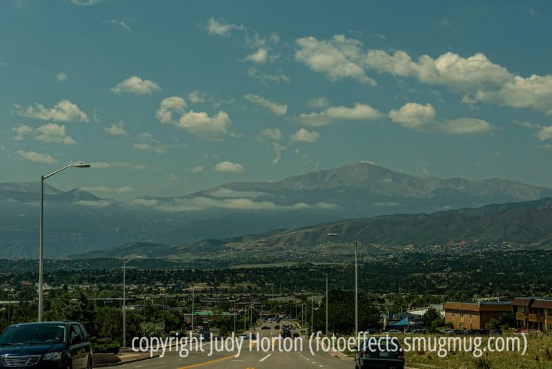 Pike's Peak and Colorado Springs