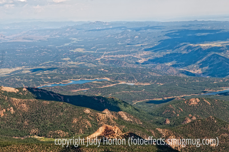 View from the top of Pike's Peak; best viewed in the largest sizes