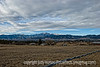 Pike's Peak and the Front Range mountains of Colorado