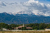 The first snowfall on Pike's Peak is revealed on a chilly September morning.