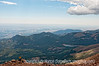 One view from the top of Pike's Peak; best viewed in the largest size