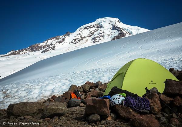 Hogsback Camp....Mount Baker, WA
