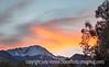 Pike's Peak at Sunset