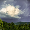 Cloud east of Asheville