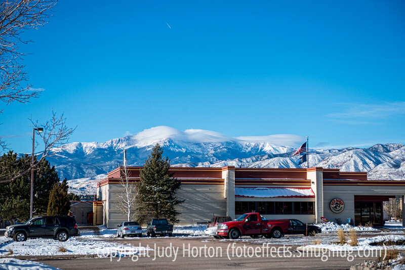Pike's Peak and the Front Range