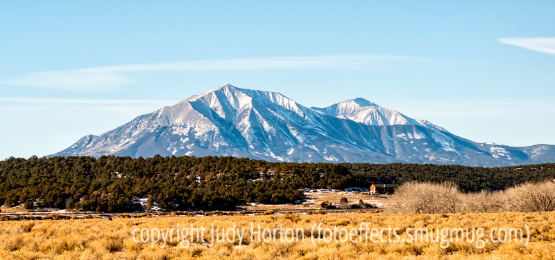 Spanish Peaks; best viewed in the largest sizes