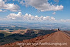 View from the summit of Pike's Peak, looking to the west; must be viewed in the largest sizes to see the details of the landscape