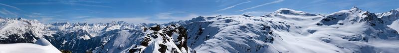 Burg-Klettersteig in der Silvretta