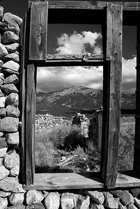 The window of an old homestead, near Great Sand Dunes National Park, Colorado.  The walls of this place were about a foot thick, to fight the cold (winter temperatures in the San Luis Valley regularly go to 30F below zero).  Whoever lived here was really tough!