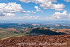 View from the top of Pike's Peak, looking west; needs to be viewed in the largest sizes