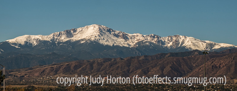 Pike's Peak after First Snow