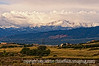 Pike's Peak after the first snowfalls of the fall season --- September 25, 2009