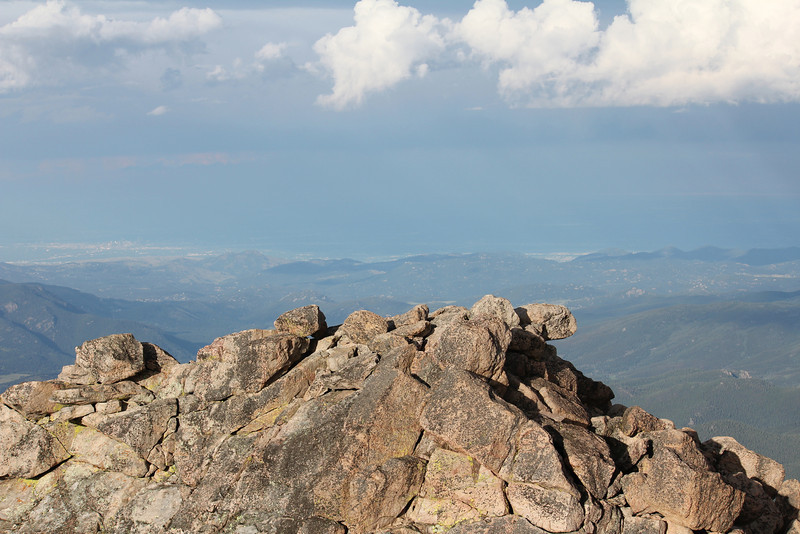 Top of Mt. Evans