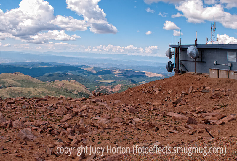 One view from the top of Pike's Peak; best viewed in the larger sizes