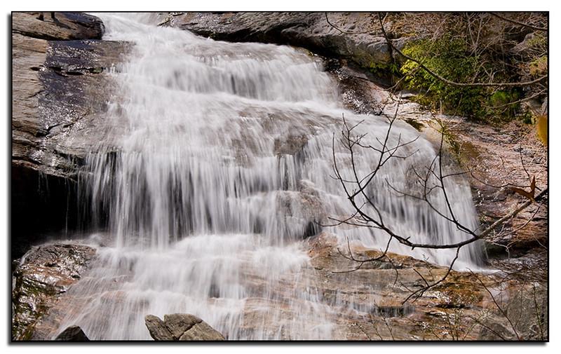 Graveyard Fields waterfall, NC